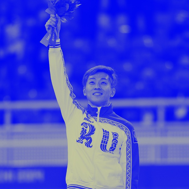 Конькобежец Виктор Ан ломает границы