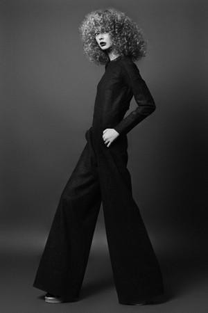 Лукбук капсульной коллекции марки Anna October для Atelier 1 — Мода на Look At Me