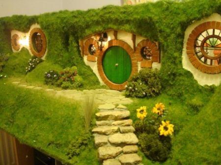Рукотворное жилище Бильбо Бэггинса