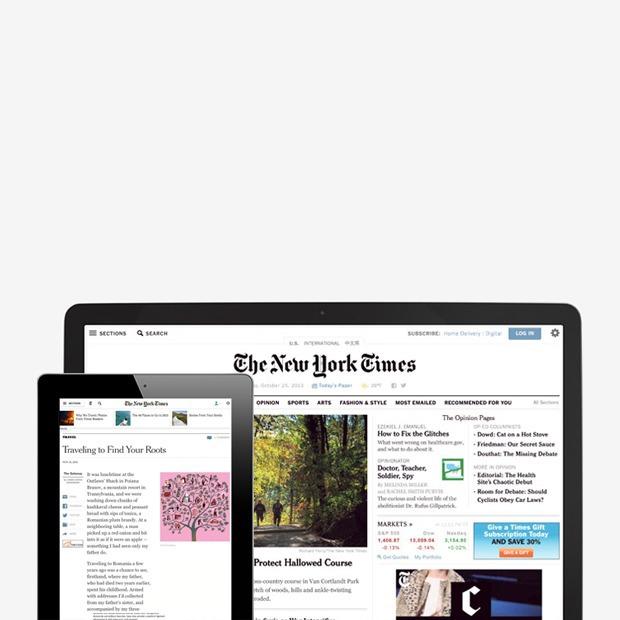Редизайн сайта NYT:  Илья Рудерман о преимуществах обновления — Мнение на Look At Me