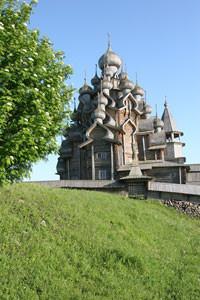 Реставрация Преображенской церкви в музее-заповеднике «Кижи» — Дизайн на Look At Me
