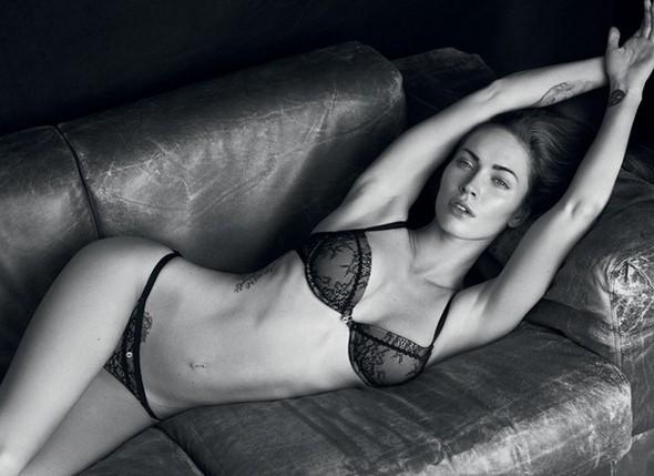 Megan Fox в рекламной компании Emporio Armani