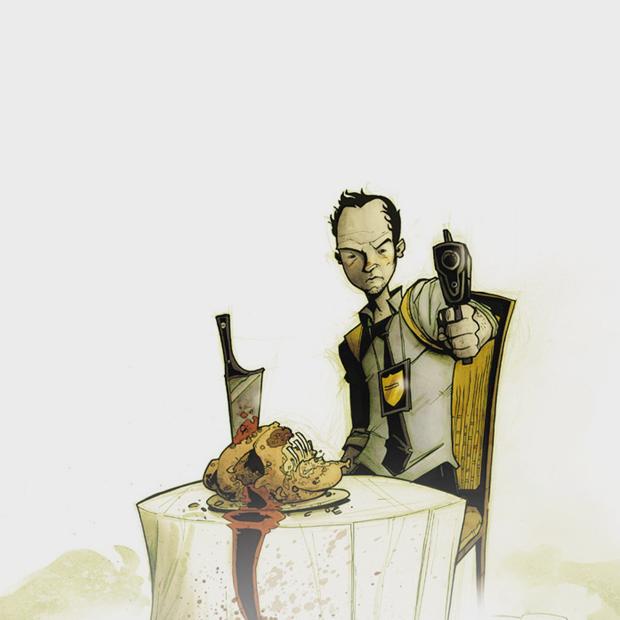 Как сделать захватывающий детективный комикс о еде — Интервью на Look At Me