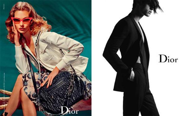 Рекламная компания весна Dior