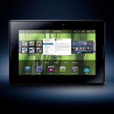 Blackberry PlayBook померится силой с iPad — Гаджеты на Look At Me