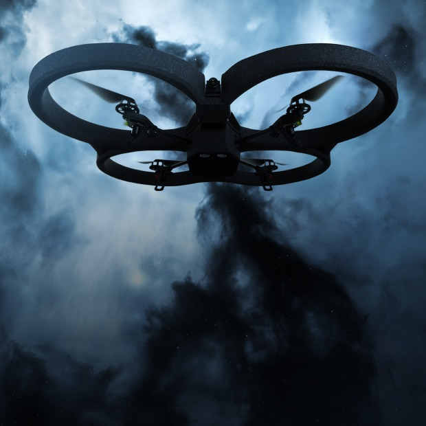 2013 — год дронов: квадрокоптеры в космосе