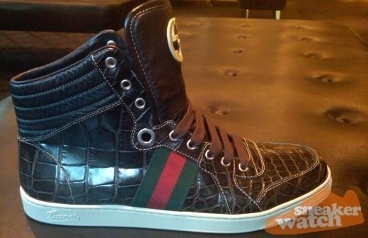 Gucci Alligator Hi Tops — Сникер-культура на Look At Me