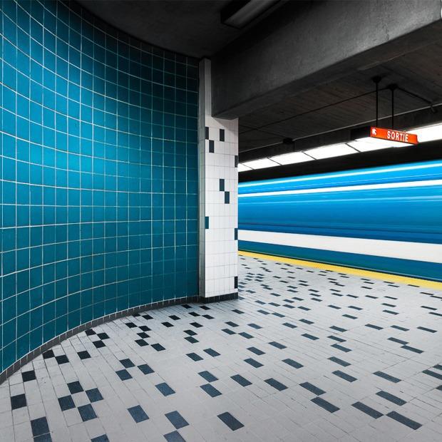 Фото: незаметная красота монреальского метро
