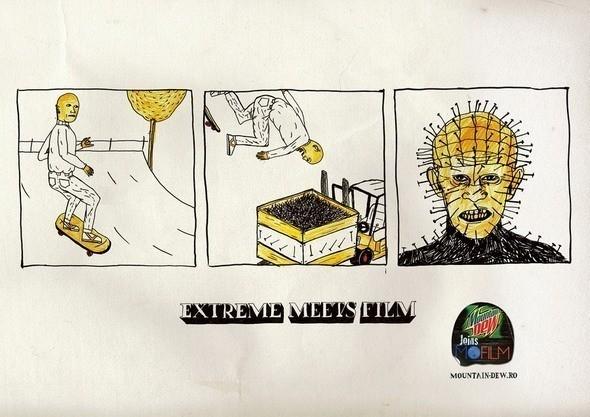 Extreme meets film — Комиксы на Look At Me