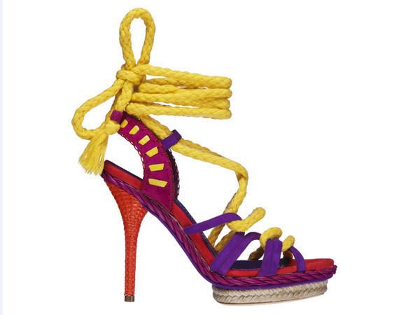 Модные тренды Весны 2011 - насыщенность цвета — Мода на Look At Me