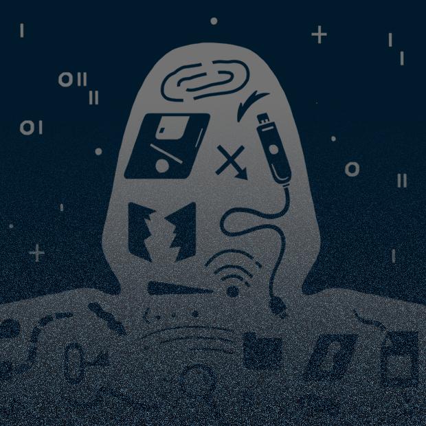 Программист смотрит реалистичный фильм  о хакерах