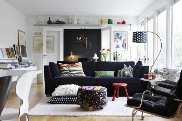Скандинавский интерьер: стиль, практичность, доступность