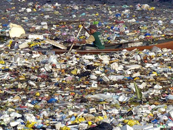 Морской пластиковый суп