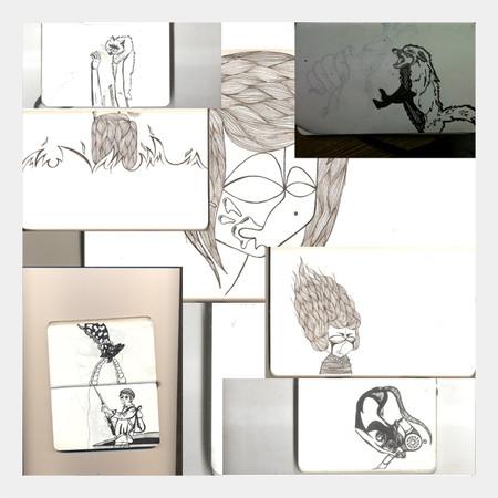 Timofey Motor & Ulya Kasha — Иллюстрация на Look At Me