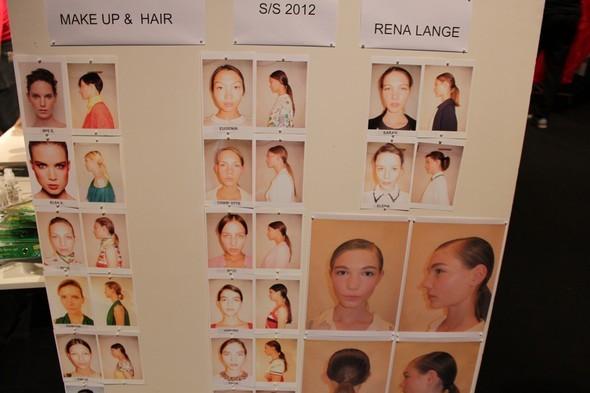 Backstage Rena Lange на неделе моды в Берлине 2011 — Мода на Look At Me