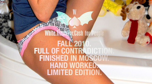 White Trash For Cash коллаборация с People — Мода на Look At Me