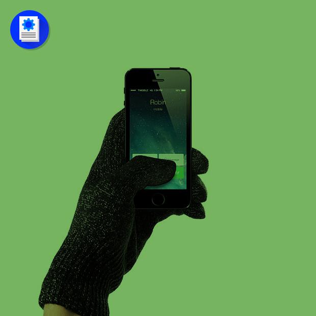 Как сделать перчатки для сенсорных экранов