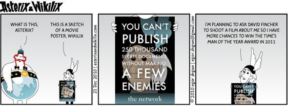 Астерикс и Викиликс — Медиа на Look At Me