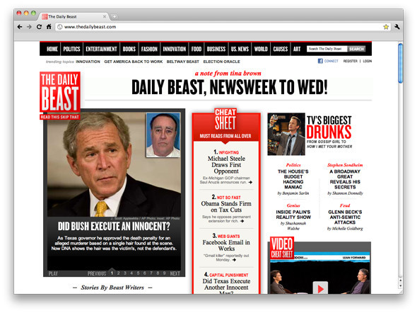 The Daily Beast и Newsweek объединяются