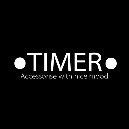Accessories with nice mood.TIMER