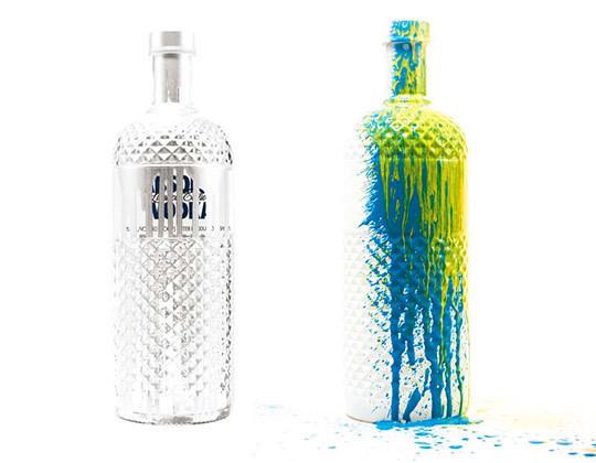 Водка ABSOLUT от Krink — Дизайн на Look At Me