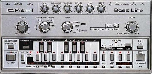 История синтезатора Roland TB-303 Bass Line — Новости на Look At Me