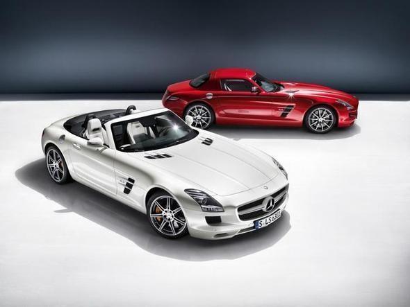Суперкар Mercedes-Benz SLS AMG — Наука и Технологии на Look At Me