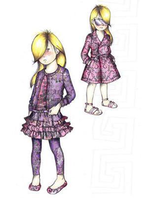 Versace запускают линию одежды для детей — Мода на Look At Me