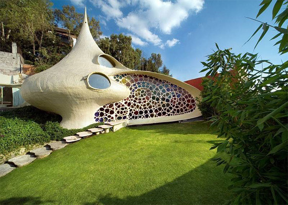 Shell House: дом-моллюск в Мексике — Дизайн на Look At Me