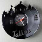 Виниловые часы Tallinn от Павла Сидоренко — Интерьеры на Look At Me