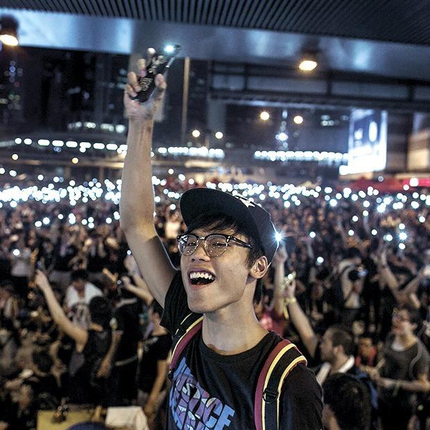 Какие технологии помогали людям протестовать в этом году — 2014 на Look At Me