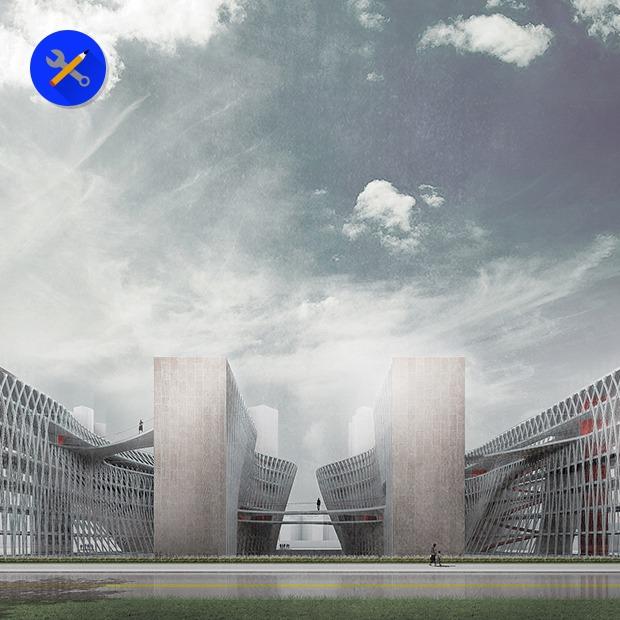 Гибрид тюрьмы и школы — Концепт на Look At Me