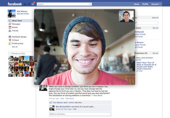 Facebook наносит ответный удар: В популярной соцсети появился видеочат — Наука и Технологии на Look At Me