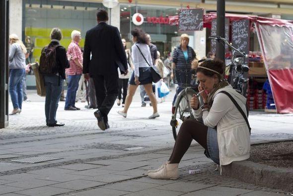 Мюнхен - чулочно-носочный рай