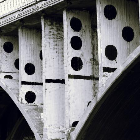 Гигантское домино — Стрит-арт на Look At Me