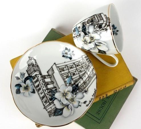 Городская посуда