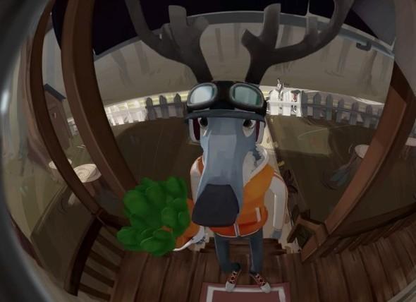 Meet Buck — Анимация на Look At Me