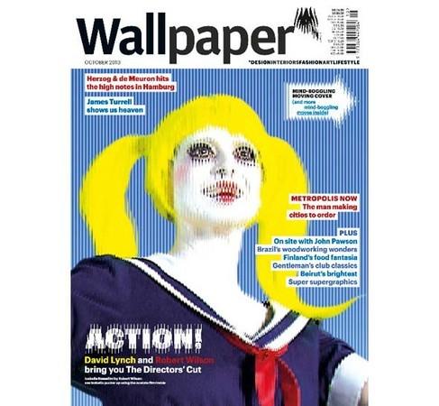 Wallpaper выпускают номер с движущейся обложкой — Мода на Look At Me