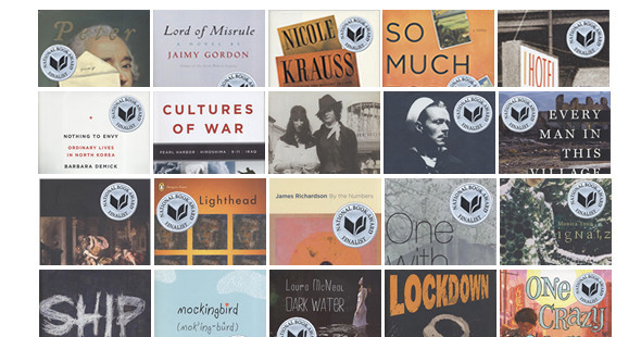 Лучшие книги года по версии Национальной премии США — Книги на Look At Me