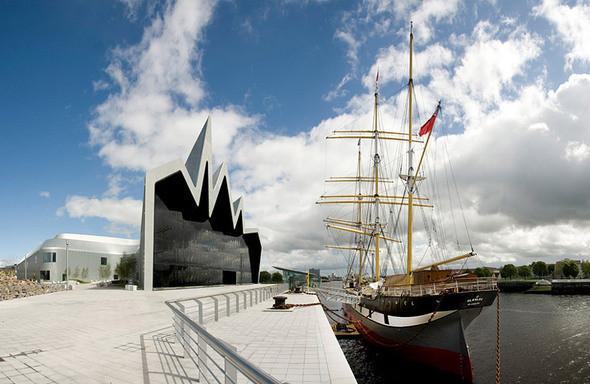 Музей транспорта Glasgow Riverside от Zaha Hadid — Архитектура на Look At Me
