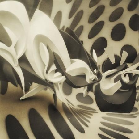 PEETA: 3D граффити — Стрит-арт на Look At Me