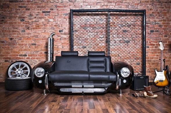 Мебель из автомобилей! — Интерьеры на Look At Me