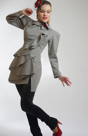 Пальто от Diana Pavlovskaya: женственная весна! — Мода на Look At Me