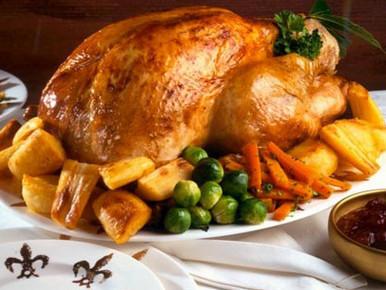 Что едят британцы на Рождество?