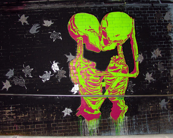 Стрит-арт в Лондоне — Стрит-арт на Look At Me