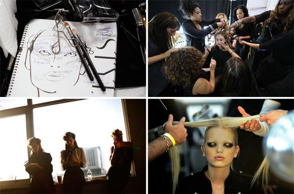 Неделя моды в Нью Йорке: Бэкстэйдж — Мода на Look At Me