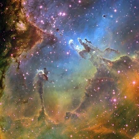 The HUBBLE: открытый космос — Фотография на Look At Me