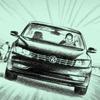 Реклама Volkswagen нарисована в духе клипа A-Ha