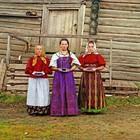 Цветные фотографии России в период с 1904-1916