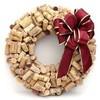 Новогодние украшения из винных пробок
